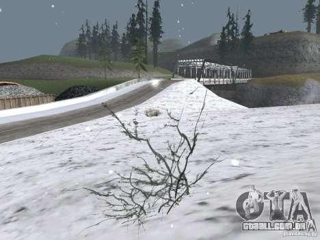 Neve para GTA San Andreas segunda tela