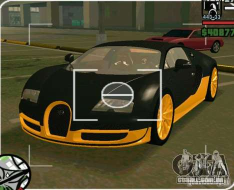 Bugatti Veyron Super Sport final para GTA San Andreas