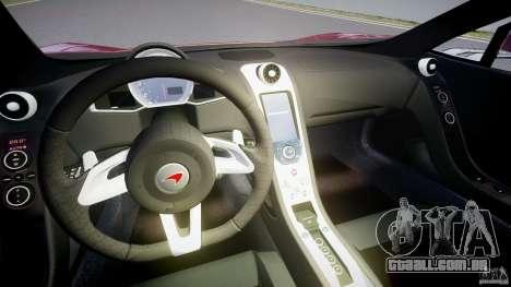 McLaren MP4-12C [EPM] para GTA 4 vista de volta