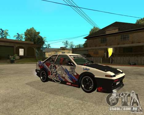 Yoshikazu AE86 para GTA San Andreas vista direita