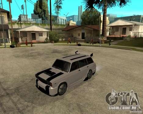 VAZ 2104 difícil afinação para GTA San Andreas