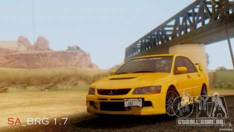 SA Beautiful Realistic Graphics 1.7 BETA para GTA San Andreas