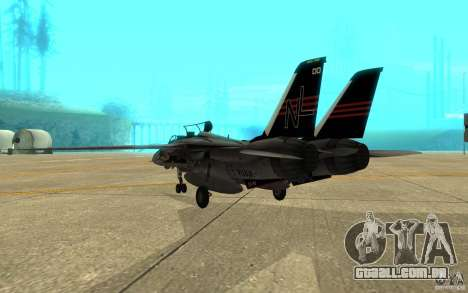 F-14A Screaming Eagles VF-51 para GTA San Andreas vista direita