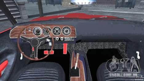 Plymouth Cuda AAR 340 1970 para GTA 4 vista direita
