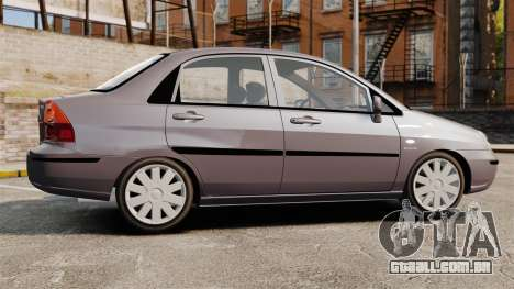 Suzuki Liana GLX 2002 para GTA 4 esquerda vista