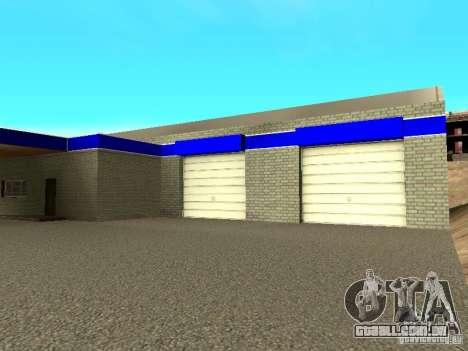 Garagem em San Fierro para GTA San Andreas por diante tela
