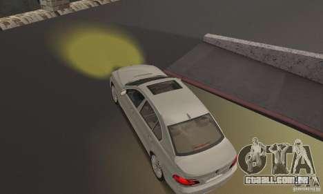 Faróis amarelos para GTA San Andreas