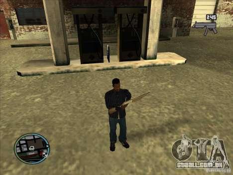 SA IV WEAPON SCROLL 2.0 para GTA San Andreas
