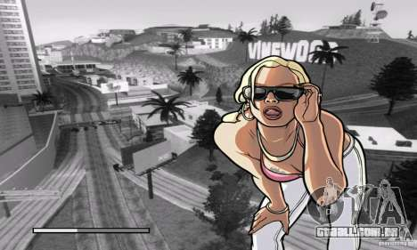 Loadscreens in GTA-IV Style para GTA San Andreas quinto tela
