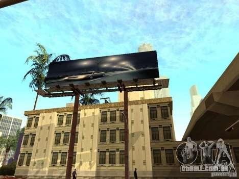 Novo centro de texturas Los Santos para GTA San Andreas sexta tela