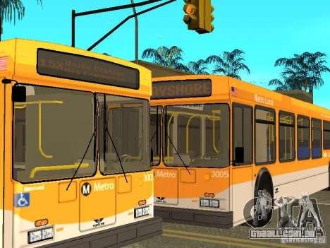 New Flyer D40LF para GTA San Andreas