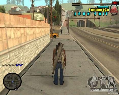 HUD Adidas para GTA San Andreas segunda tela