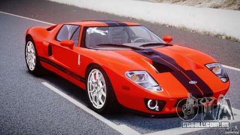 Ford GT 2006 v1.0 para GTA 4 vista de volta