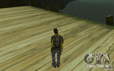 Backpacker HD Skin para GTA San Andreas segunda tela