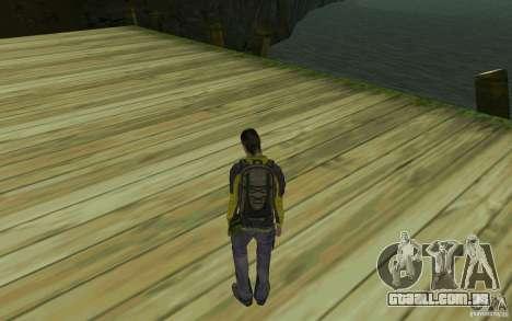 Backpacker HD Skin para GTA San Andreas