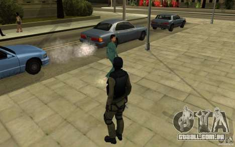 Forças especiais-CJ para GTA San Andreas por diante tela