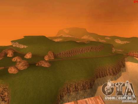 Without the desert para GTA San Andreas sexta tela