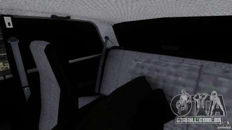 VAZ 2107 para GTA 4 vista interior