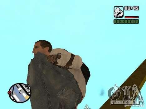 Desmond Miles para GTA San Andreas décimo tela