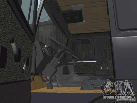 MAZ 5432 para GTA San Andreas vista traseira
