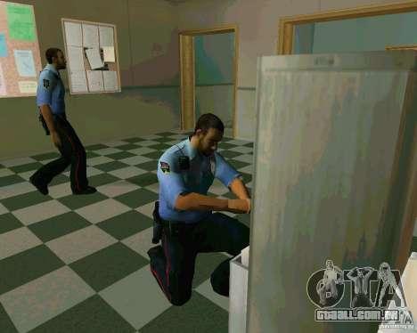 Azeri Polis para GTA San Andreas segunda tela