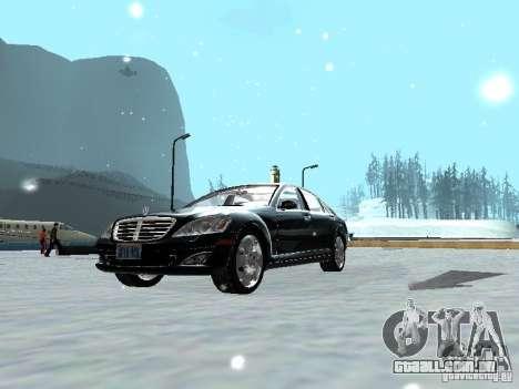 Mercedes-Benz S600 para GTA San Andreas vista direita