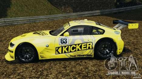 BMW Z4 M Coupe Motorsport para GTA 4 esquerda vista