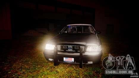 Ford Crown Victoria 2003 Florida CVPI [ELS] para GTA 4 vista inferior