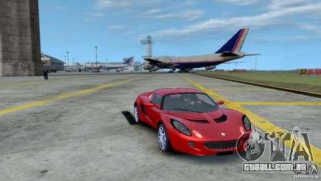 Lotus Elise para GTA 4 traseira esquerda vista
