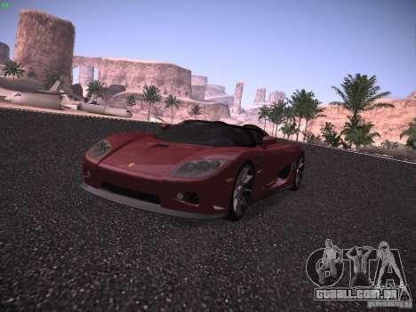 Koenigsegg CCX 2006 para GTA San Andreas esquerda vista