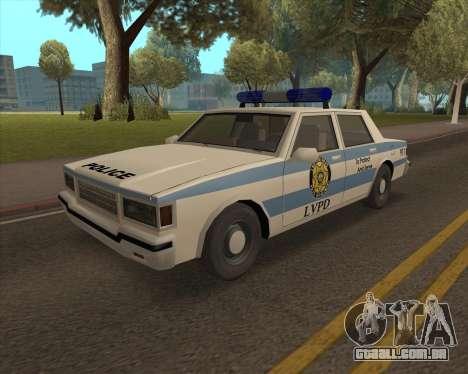 Updated LVPD para GTA San Andreas