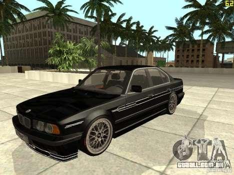 BMW E34 Alpina B10 Bi-Turbo para GTA San Andreas