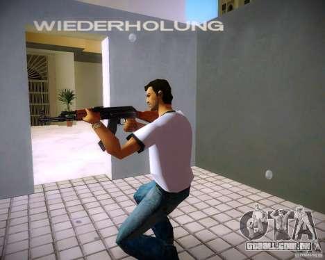 AK-47 para GTA Vice City terceira tela