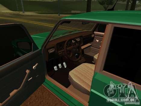 VAZ 21047 para GTA San Andreas vista traseira