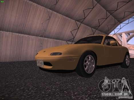 Mazda MX-5 1997 para GTA San Andreas esquerda vista