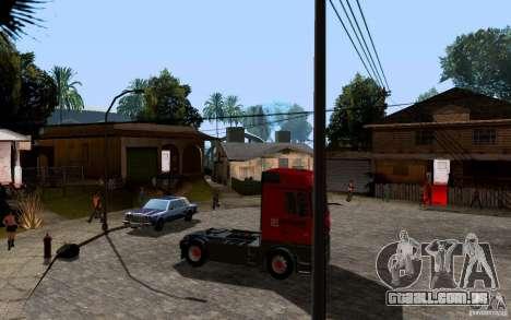 Mercedes-Benz Actros Lukoil para GTA San Andreas vista direita