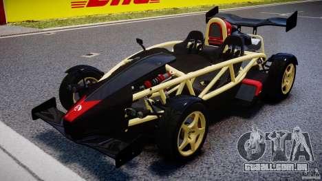 Ariel Atom 3 V8 2012 para GTA 4