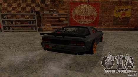 GTA Shift 2 Mazda RX-7 FC3S Speedhunters para GTA San Andreas esquerda vista