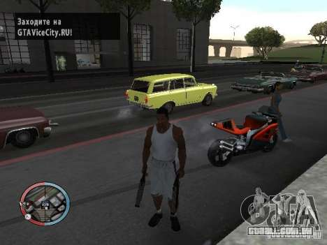 SUPER BIKE MOD para GTA San Andreas