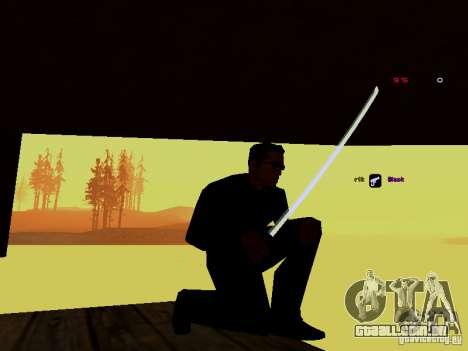 Ice Weapon Pack para GTA San Andreas quinto tela