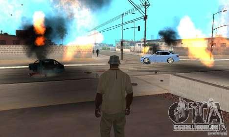 Hot adrenaline effects v1.0 para GTA San Andreas nono tela