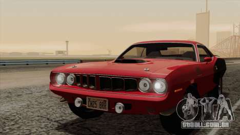 Plymouth Hemi Cuda 426 1971 para o motor de GTA San Andreas