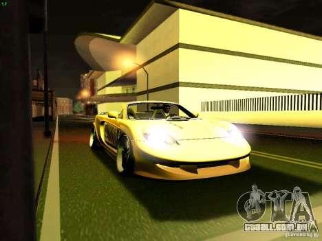 Toyota MR-S para vista lateral GTA San Andreas