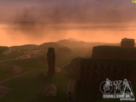 Without the desert para GTA San Andreas sétima tela