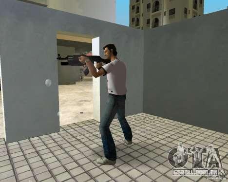 AK-47 com um М203 de lançador de Granada para GTA Vice City terceira tela