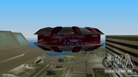 Ultimate Flying Object para GTA Vice City vista direita