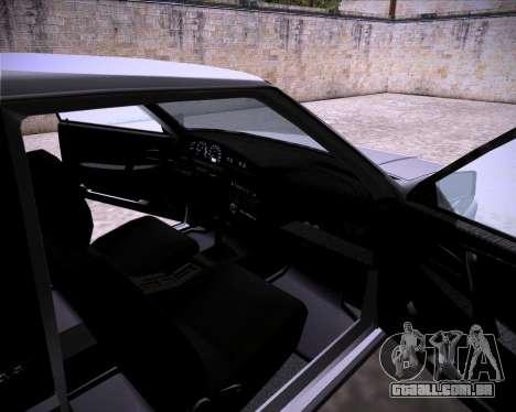 Lada Samara 2113 para GTA San Andreas vista traseira
