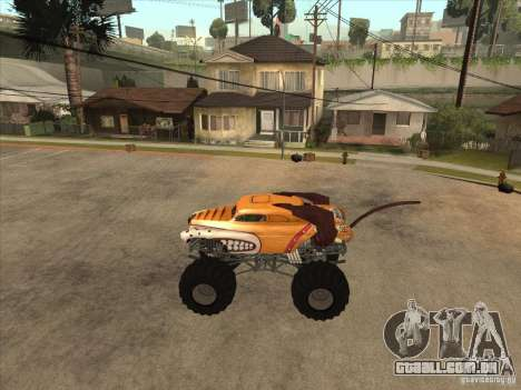 Monster Mutt para GTA San Andreas esquerda vista