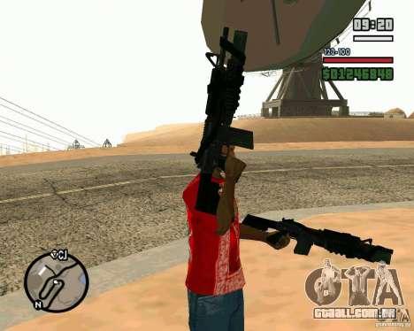 Black Ops Commando para GTA San Andreas segunda tela