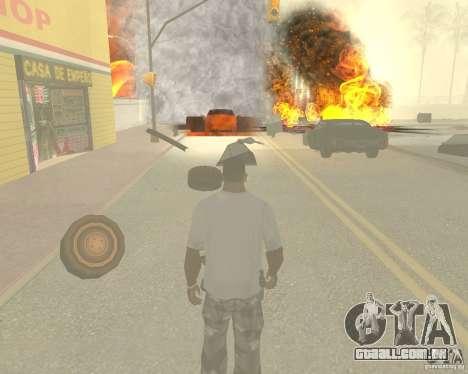 Tornado para GTA San Andreas décimo tela